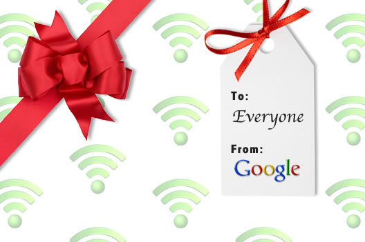 Free Google Airport Wifi