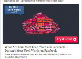 Facebook Quizzes: Sharing Your Private Data