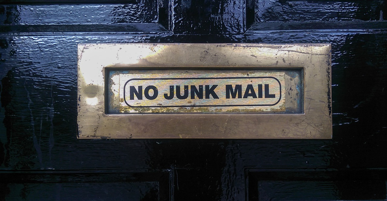 stop junk mail